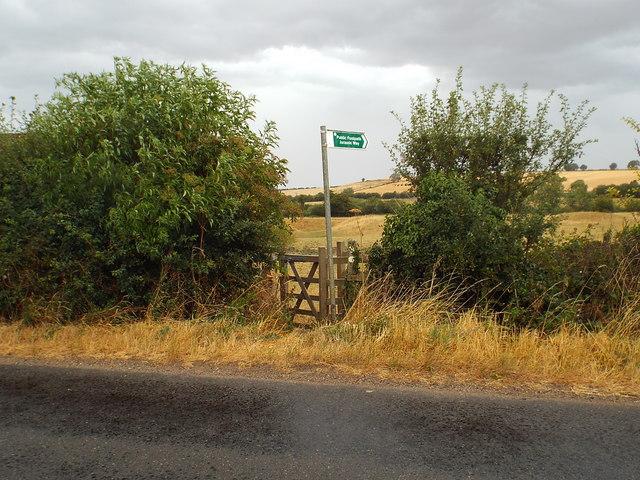 Jurassic Way near Braybrooke, Northampton