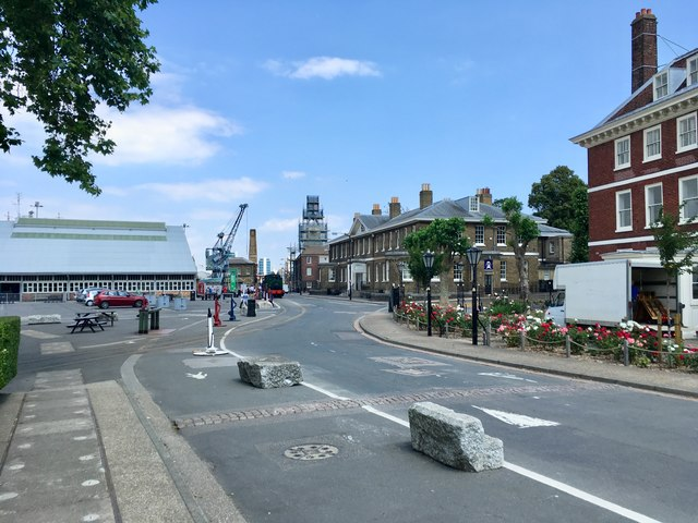 Main Gate Road, Chatham Dockyard