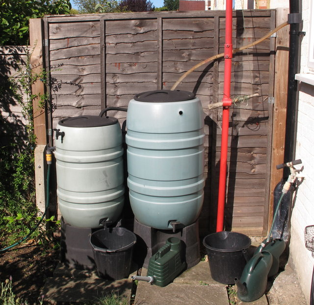 Domestic rainwater conservation
