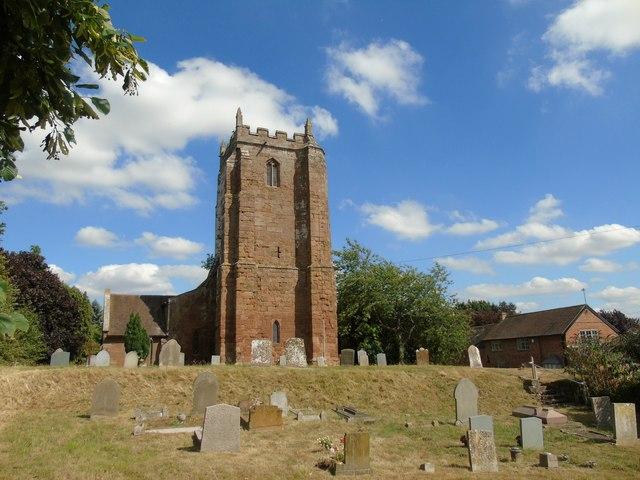 Church of St Michael, Weston under Wetherley
