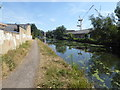 TQ0580 : The Grand Union Canal at Yiewsley by Marathon
