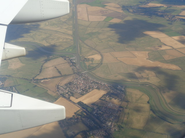Reedham from the air