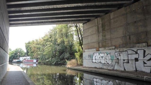 Graffiti under the A52