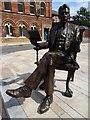 SJ8847 : Arnold Bennett Statue by Philip Halling