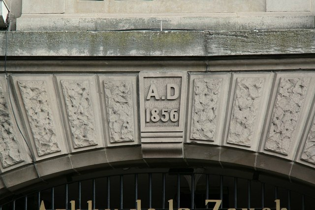 Town Hall, Market Street, Ashby-de-la-Zouch, datestone