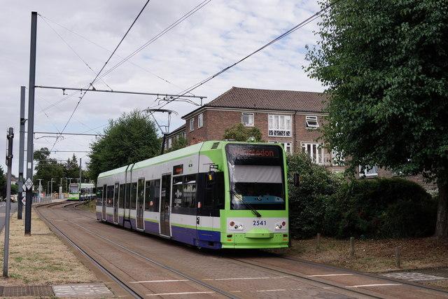 Trams at Sandilands