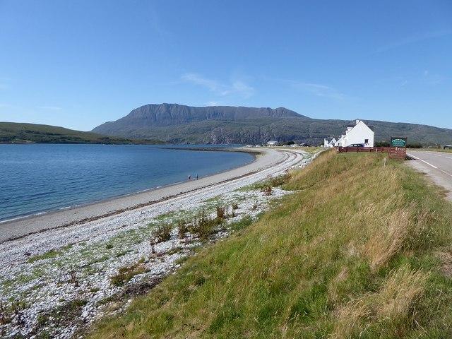 Admair Bay, looking towards Ben Mor Coigach