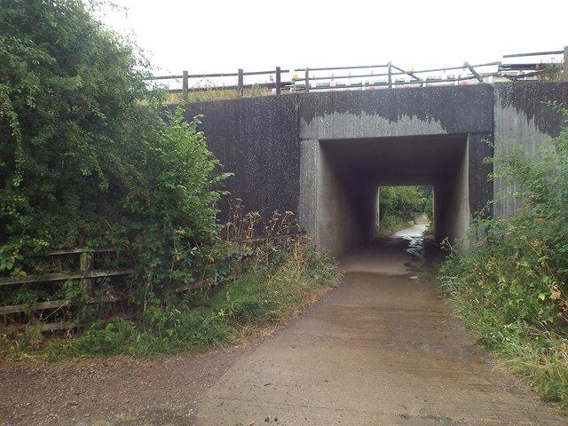A14 bridge near Kelmarsh