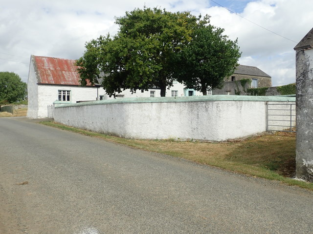 Former farm yard and sheds at Whites Town