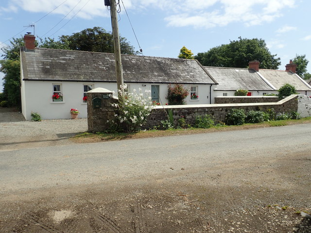 Cottages at the picturesque village of Whites Town