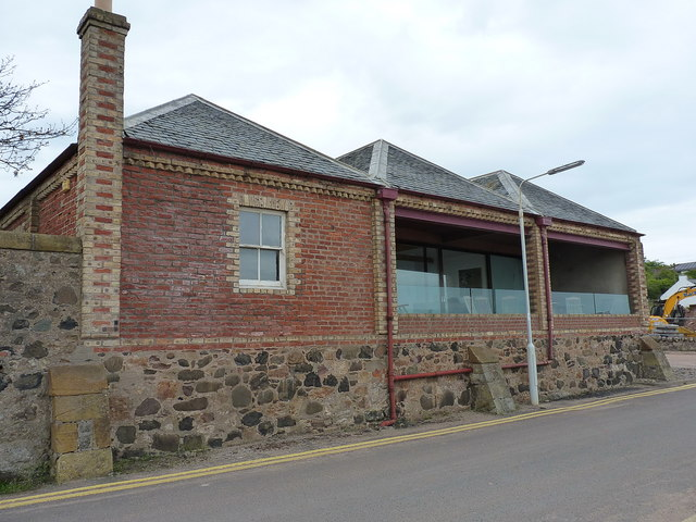 The Cardy Net Works building, Lower Largo