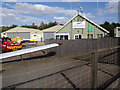 TL8427 : Airfield Buildings at Earls Colne Airfield by Adrian Cable