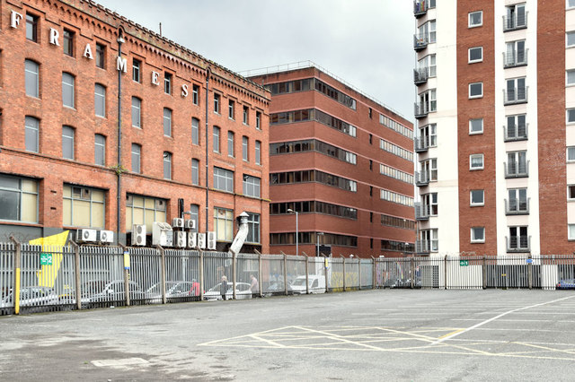 Site, 18-26 Library Street, Belfast (August 2018)