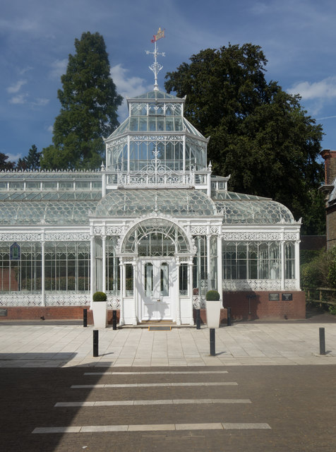 Forest Hill : Horniman Museum conservatory
