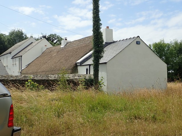 Re-thatched and extended cottage at Whites Town, Co Louth