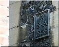 TG2308 : Blackfriars Hall - parish boundary marker by Evelyn Simak