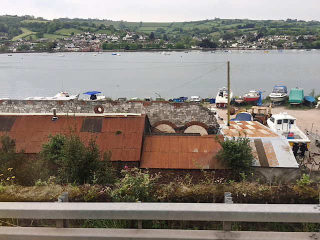 Boatyard on the former Gas Works site, Teignmouth