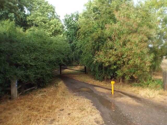 Brampton Valley Way at Houghton Crossing