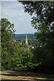 TQ3572 : Forest Hill : Christ Church : view from Horniman Gardens. by Jim Osley