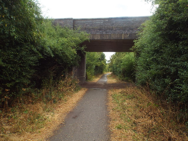 Bridge over Brampton Valley Way near Brixworth