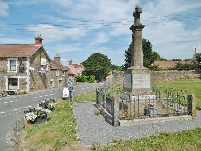 Shipham, war memorial © Mike Faherty cc-by-sa/2.0 :: Geograph