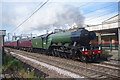 SD4970 : Flying Scotsman at Carnforth station : Week 32