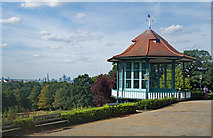 TQ3473 : Forest Hill : Horniman Gardens bandstand by Julian Osley