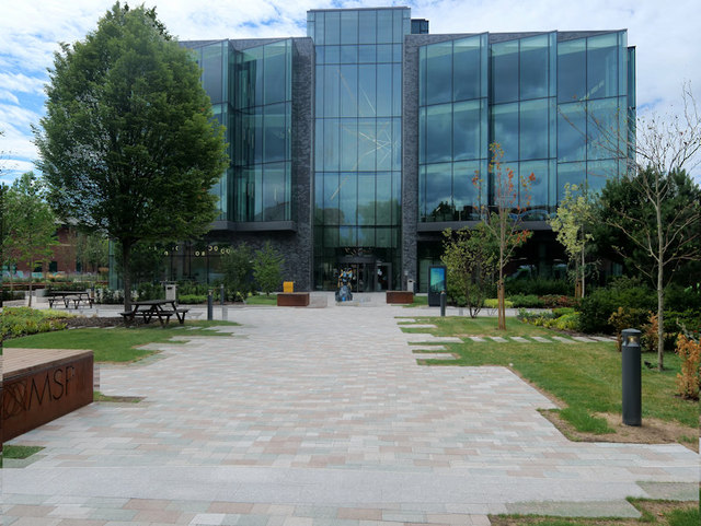 The Bright Building, Manchester Science Park