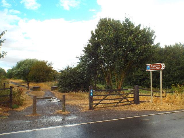 Brampton Valley Way, near Brixworth