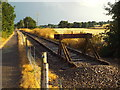 SP7367 : End of the line, near Chapel Brampton by Malc McDonald