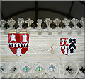 ST8663 : Shields, Church of All Saints, Great Chalfield Manor, Wiltshire (2) by Brian Robert Marshall