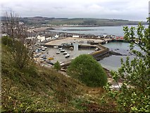 NO8785 : Stonehaven Harbour by David Robinson