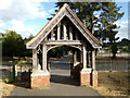 TL8628 : St. Andrew's Church Lych Gate by Adrian Cable