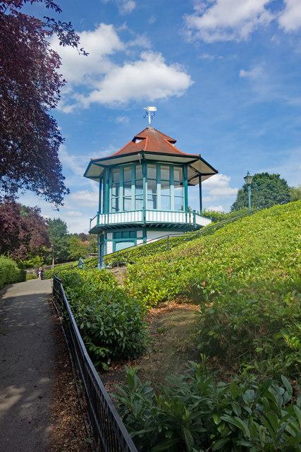 Forest Hill : Horniman Gardens bandstand