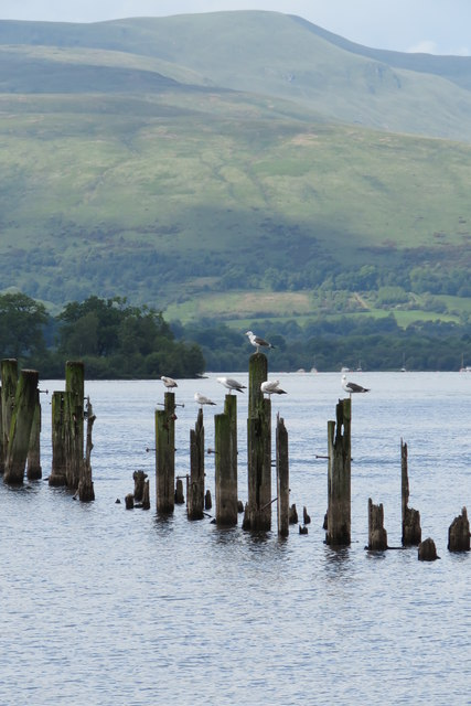 Old Pier Remains, Balloch