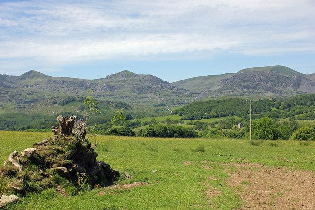View towards the Stwlan Dam
