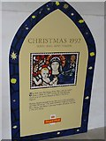 SP1106 : The 1992 26p Christmas stamp  by Philip Halling