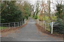 TM2850 : An entrance to Melton Lodge Estate by Bill Boaden