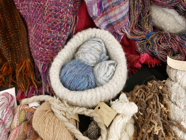 Highland Guild of Weavers, Spinners and Dyers at the Black Isle Show