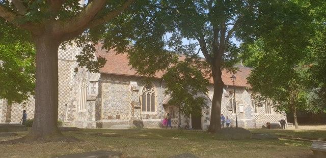 St Mary's Church and Churchyard, Reading
