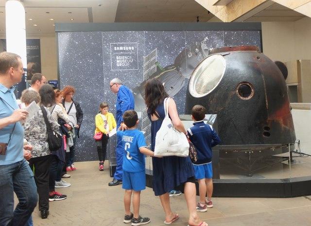 Soyuz spacecraft, National Museum of Scotland