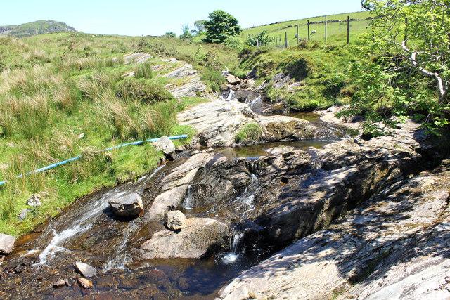 Stream near Lletty-Gwilym