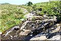 SH7142 : Stream near Lletty-Gwilym by Jeff Buck