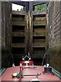 SP5968 : In the Watford staircase locks, Northamptonshire by Roger  Kidd