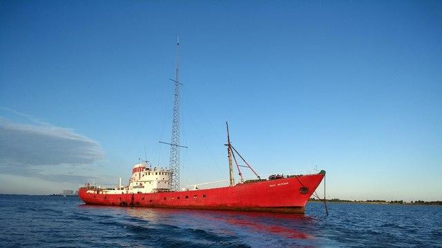 MV Ross Revenge - Radio Caroline ship
