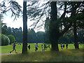ST2885 : Park run, Newport (2) by Robin Drayton