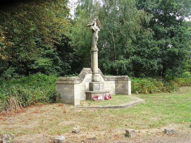 Sad war memorial