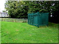 ST2996 : Shades of green at the edge of a Pontnewydd park, Cwmbran by Jaggery