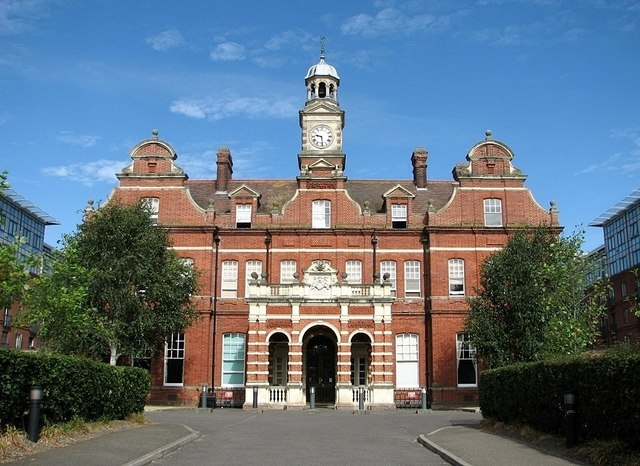 The former Norfolk & Norwich Hospital