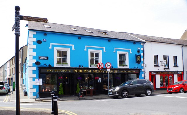 Merry's Gastro Pub (1), 28 Parnell Street (lower Main Street), Dungarvan, Co. Waterford